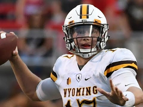 Josh Allen (Wyoming QB) vs UNLV (2016)