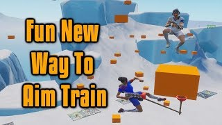 A Fun New Way To Improve Your Shotgun Aim! - Fortnite Tips and Tricks
