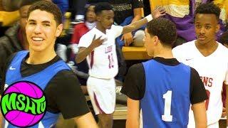 LaMelo Ball vs 7th Grader - Kadon Fossett goes toe to toe with Melo