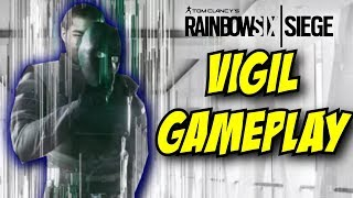 Rainbow Six Siege Vigil Gameplay Ability Gadget Korean Operator Operation White Noise