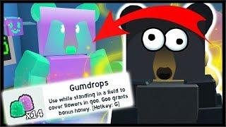 *NEW* FREE GUMMY BEE EVENT, GUMMY BEAR & GUMDROPS! | Roblox Bee Swarm Simulator