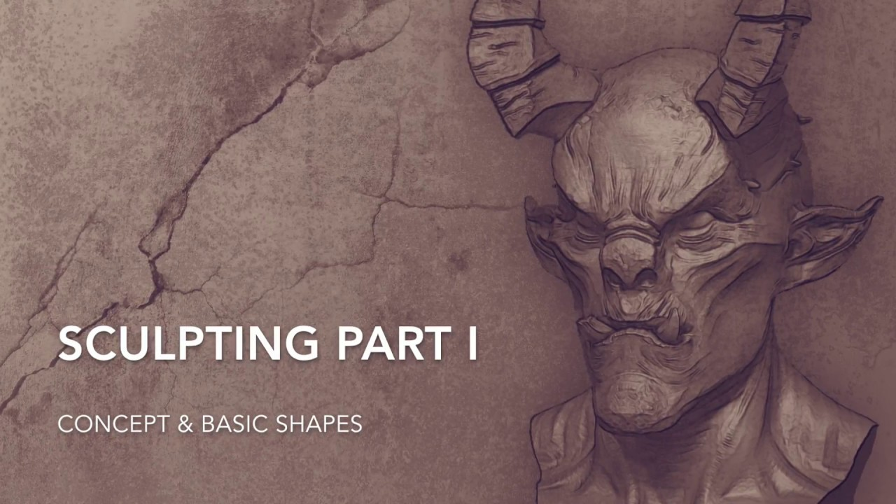 Sculpting Demo with ZBrush Core & the Wacom Intuos 3D // Part 1/2