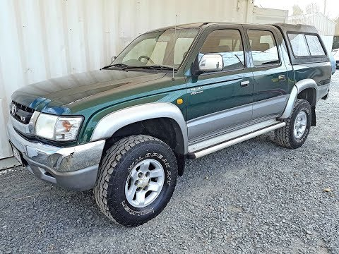 (SOLD) Automatic 4x4 Dual Cab Ute Toyota Hilux SR5 2004 review