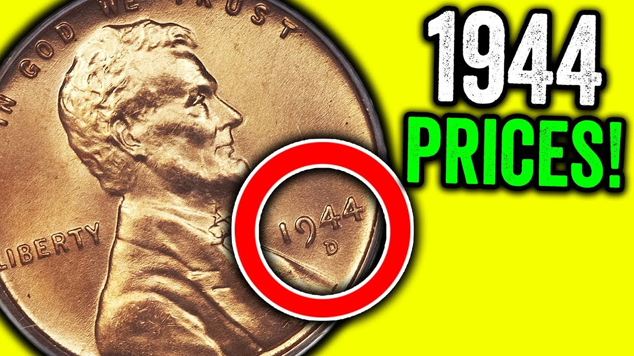 1944 Wheat Pennies Worth Money Rare Valuable Coins To Look For