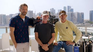 Exclusive behind the scenes with Ryan Reynolds and Michael Bay of '6 Underground' in Abu Dhabi