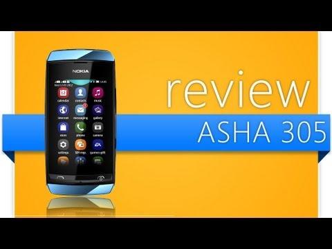 Review Nokia Asha 305 - Pt Br