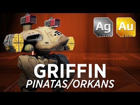 Death Button [Griffin Orkan/Pinatas] - War Robots - Gameplay (Shenzhen)