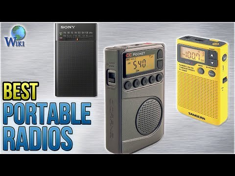 10 Best Portable Radios 2018