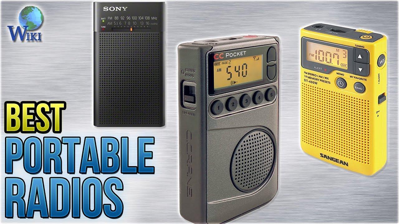 10 Best Portable Radios 2018 Youtube