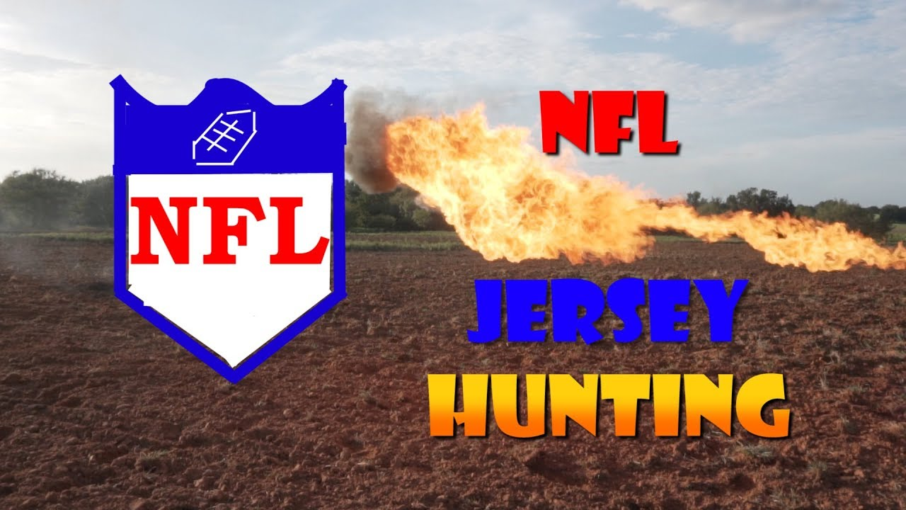 #NFLBURNNOTICE NFL burn notice jersey hunting video boycott funny