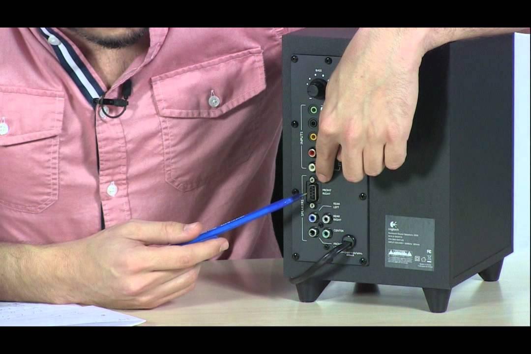 Tigerdirect Tv  Logitech Z506 Surround Sound Speakers