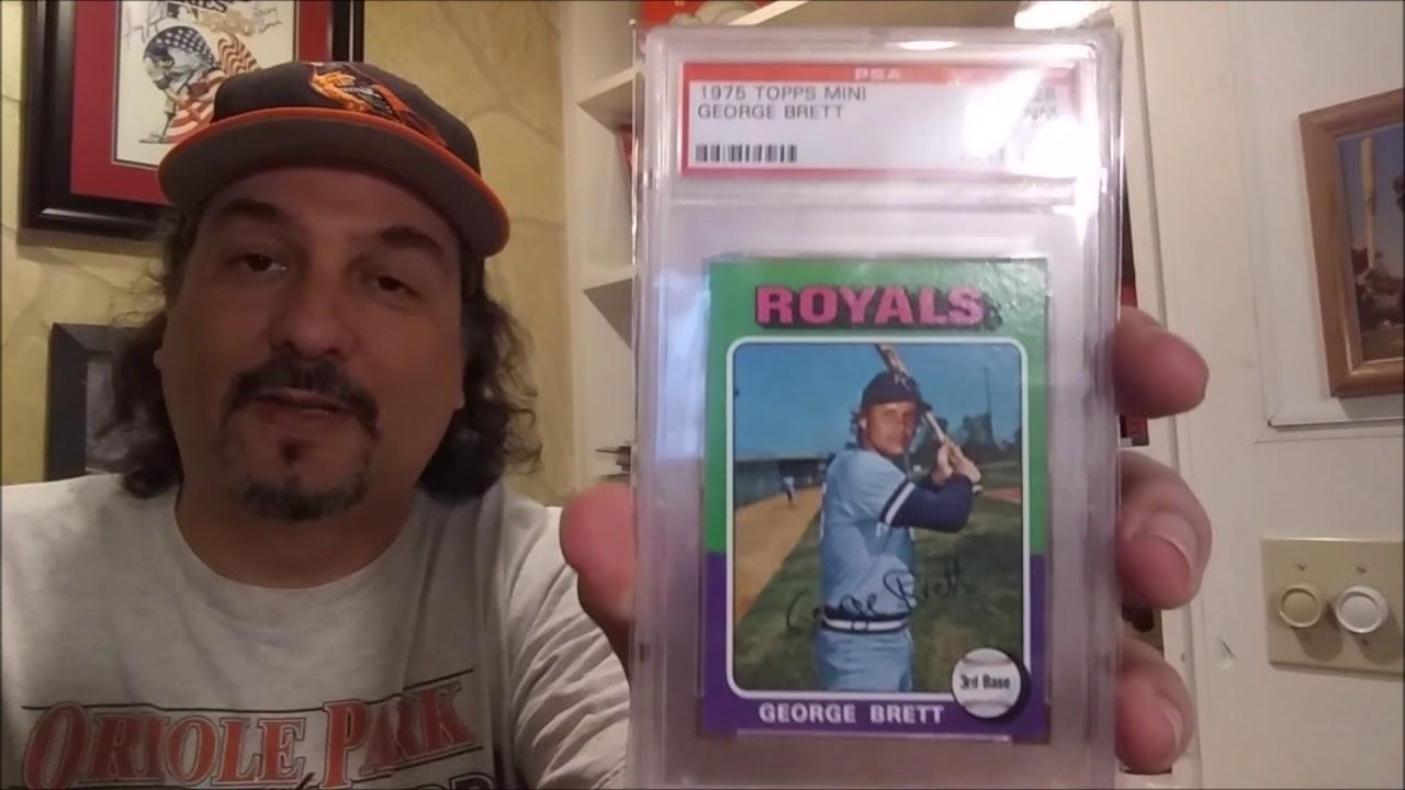 300 Great Baseball Cards 75 Topps Mini George Brett