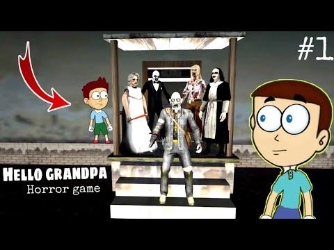 Hello Grandpa Horror Game #1 - Shiva and Kanzo Gameplay