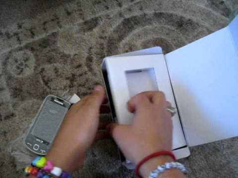 Unboxing - Samsung Intercept