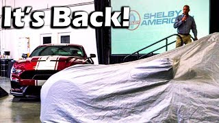 Shelby Unveils REBIRTH Of The GT500 SUPER SNAKE! | Double Car Reveal
