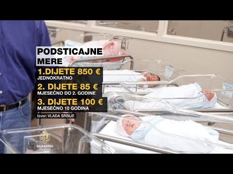 Srbija novčanimsredstvimaželi podstaći natalitet
