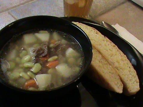 Soup From Prime Rib Bones