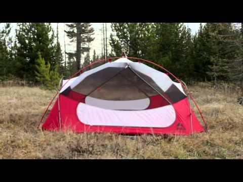 MSR Papa Hubba NX 4 Person 3 Season C&ing Tent & MSR Papa Hubba NX 4 Person 3 Season Camping Tent - YouTube