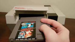 How to properly inṡert an NES cartridge