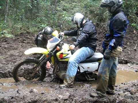 DR 650 stucked