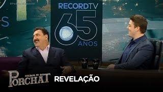 """Ratinho afirma: """"A Record TV foi um grande avanço na minha carreira"""""""