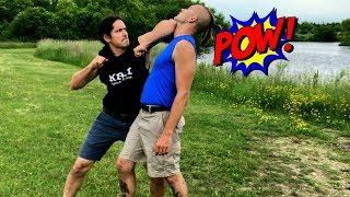 BEST for Empty Hands Street Fighting Self Defense - ELBOWS! Must Watch