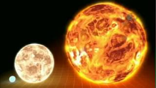 Largest star ever discovered, compared to our Sun thumbnail