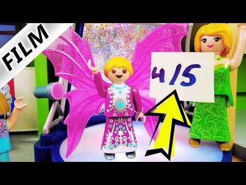 Playmobil Film Deutsch FASHION FAMOUS IN DER SCHULE! HANNAH AUF DEM CATWALK ALS MODEL! Familie Vogel