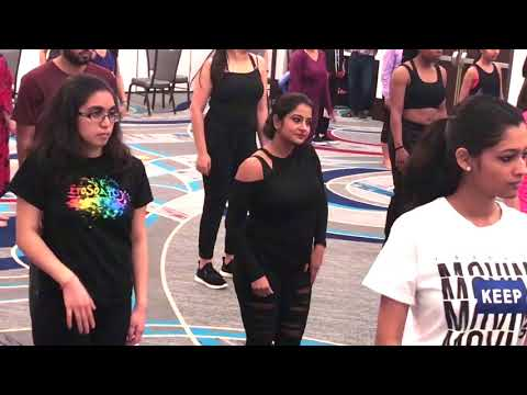 Dance Workshop|  by Dharmesh Yelande sir | 2018  Atlanta USA !