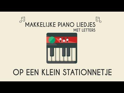 Nieuw op een klein stationnetje makkelijke piano versie.Piano leren RQ-23