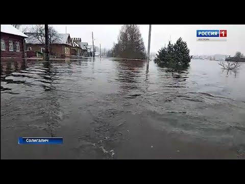 Паводок в Костромской области: ситуация на 7 ноября