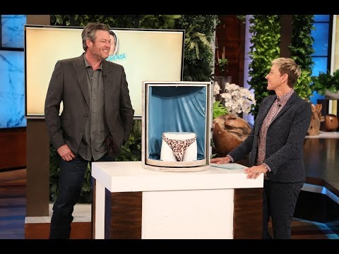 Blake Shelton Sells a Mystery Item in Pitch Please