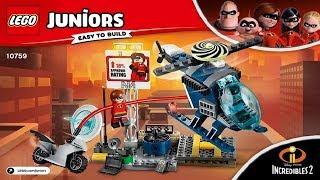 LEGO instructions - Juniors - Incredibles 2 - 10759 - Elastigirl's Rooftop Pursuit