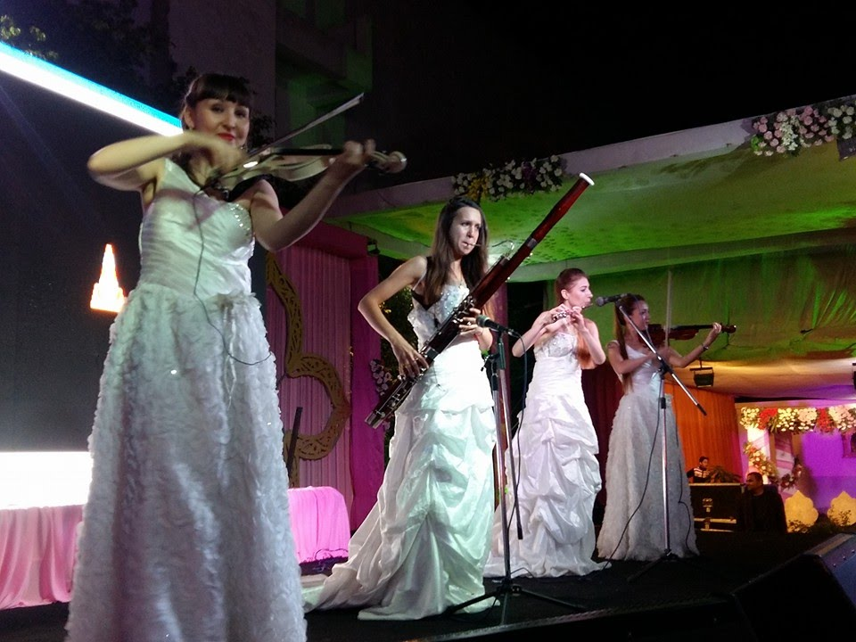 International Female Instrumental Music For Indian Wedding Corporate Events