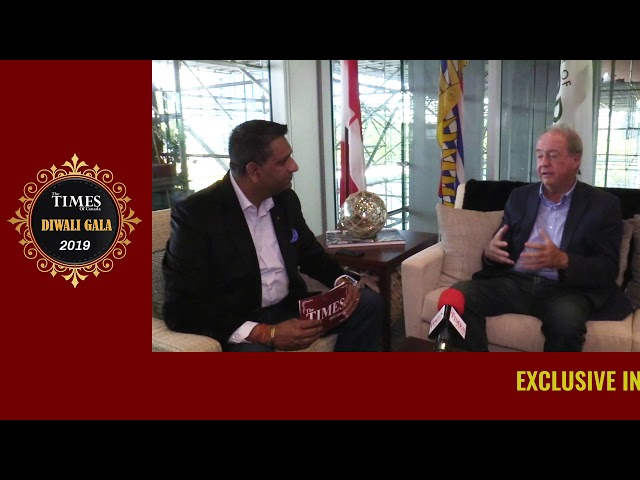 Doug McCallum (Mayor of surrey)Exclusive interview with the The Times of Canada