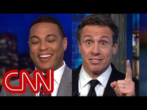 Lemon, Cuomo laugh off Trump's 'hypocritical' tweet
