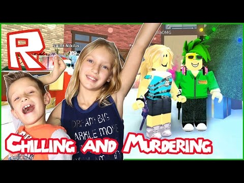 Just Chill And Murder / Roblox Murder Mystery 2 With KarinaOMG