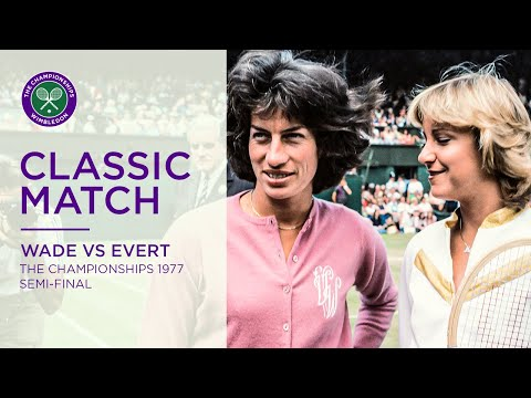 Chris Evert Vs Virginia Wade Wimbledon 1977 SF