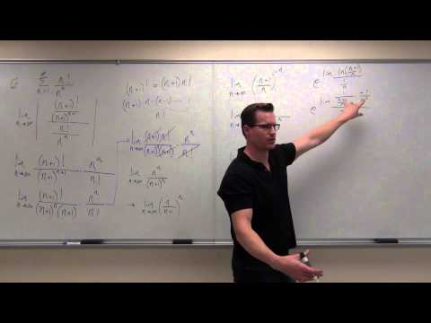 Calculus 2 Lecture 9.6:  Absolute Convergence, Ratio Test and Root Test For Series