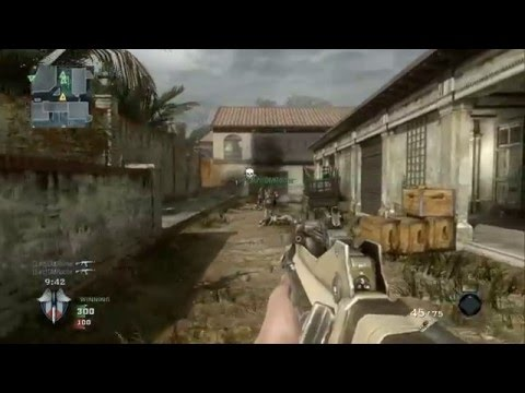 Call Of Duty Black Ops - Team Deathmatch versus Veteran Bots - Villa