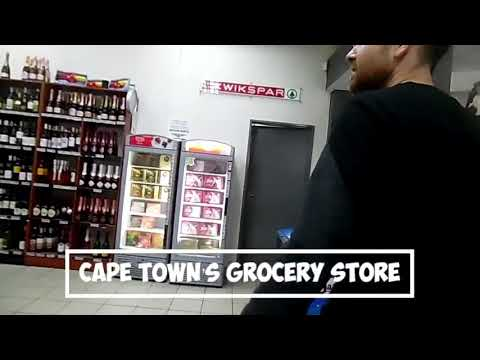 Shopping in Cape Town's Grocery store!