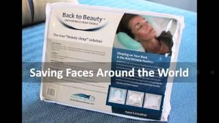 back to beauty anti wrinkle head cradle beauty sleep pillow saving faces around the world