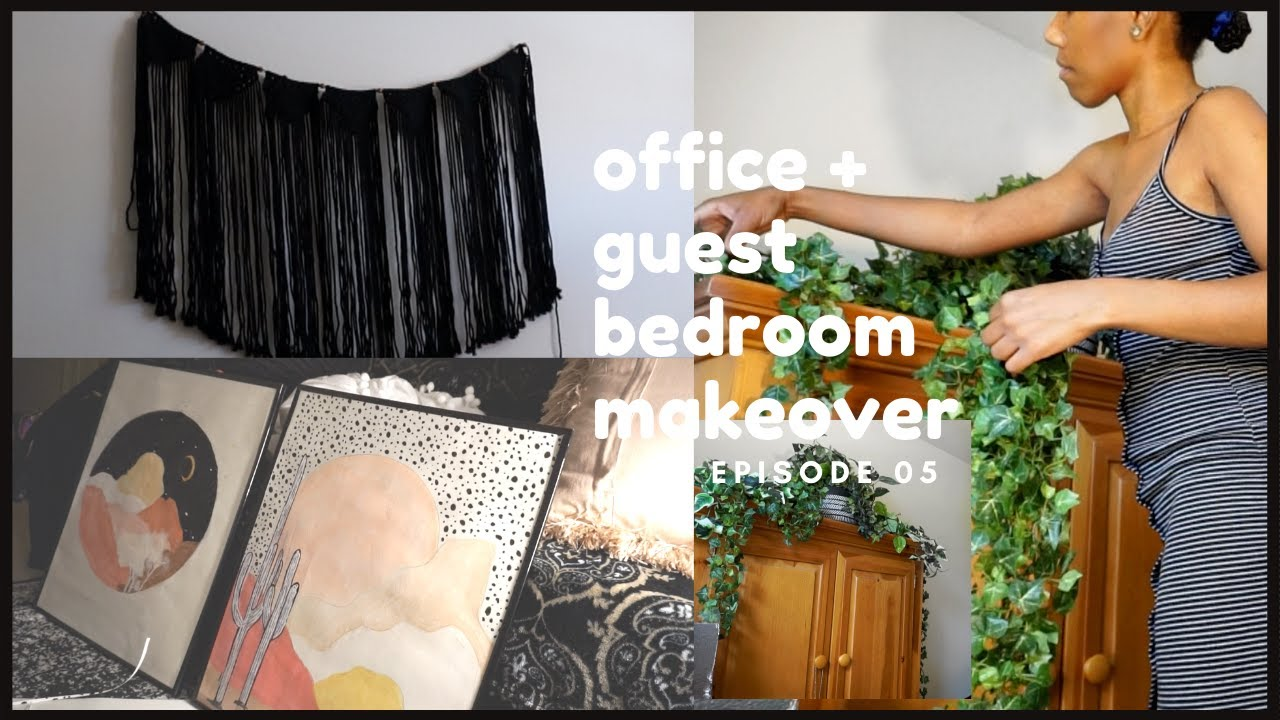 Making Over My Office & Guest Bedroom | Painting & Decorating