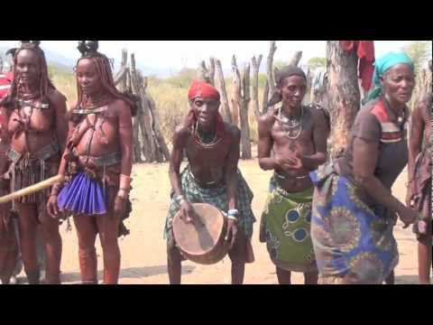 Mucawona tribe in Angola