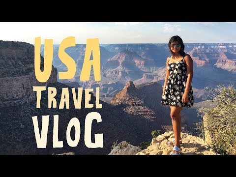 USA TRAVEL VLOG | Disney World, Las Vegas, San Francisco, Los Angeles, New York City
