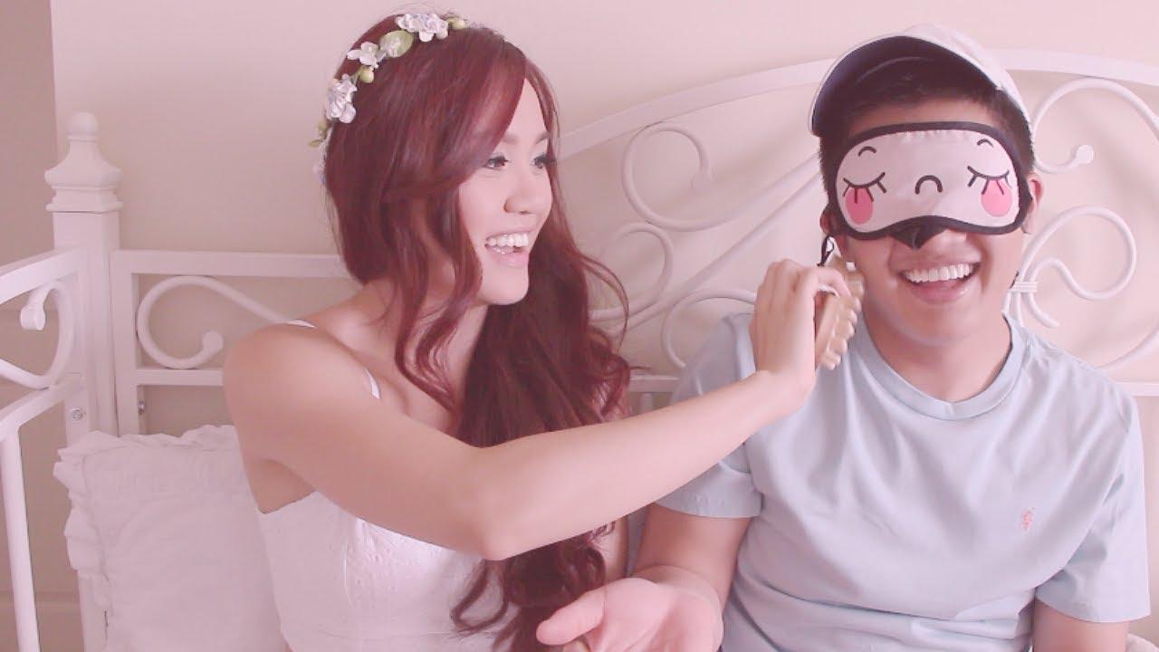 Blindfold boyfriend