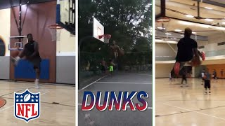 NFL GREATEST DUNKS Compilation Feat Odell Beckham, Henry Ruggs III, Tyreek Hill, Patrick Mahomes