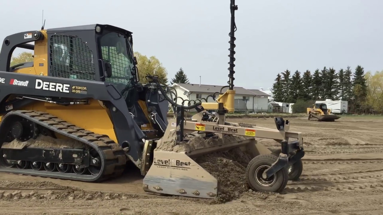 Fully Automatic Compact Track Loader Grade Box