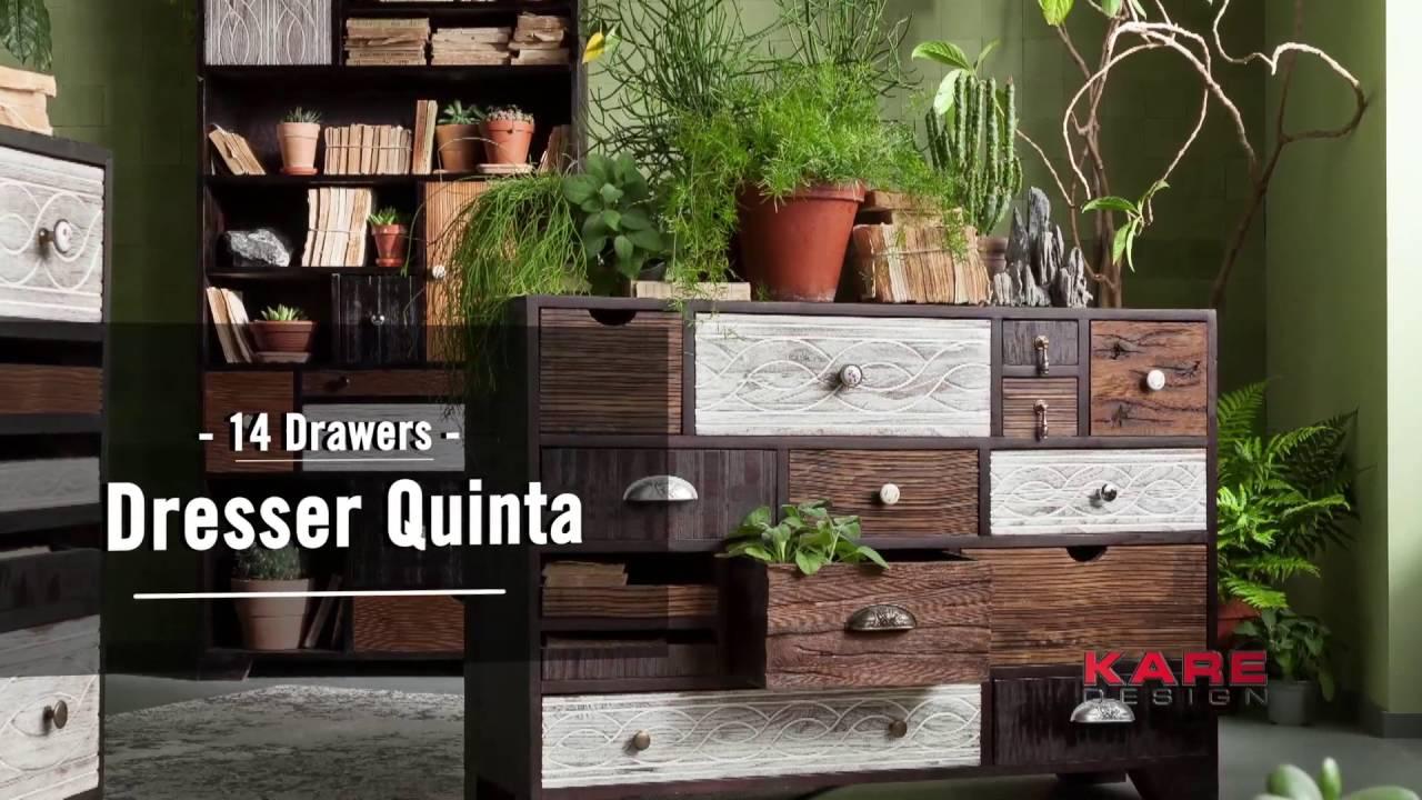 Kare Design Kommode Quinta Youtube