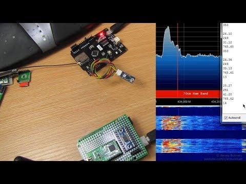 Как передавать данные радиомодулями LoRa